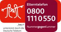 Elterntelefon - 0800 1110550 - Nummer gegen Kummer